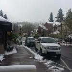 Snow in Big Bear May 8, 2015