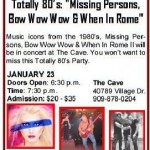 What's Up in Big Bear – 80's Weekend!