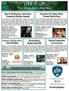 See what is up in Big Bear