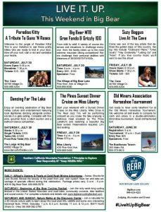Big Bear Weekend Guide July 2016