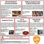 What's Up ~ September 10-11 2016 in Big Bear