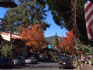 Fall Colors and Big Bear Oktoberfest