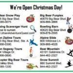 Merry Christmas Weekend in Big Bear