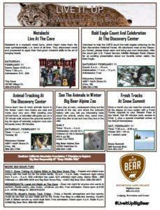 February 2017 What's up in Big Bear
