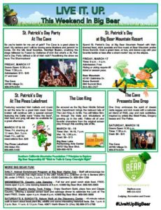 Big Bear and St Paddy's Day: More than just green beer