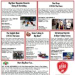 What is happening in Big Bear Dec 8-10
