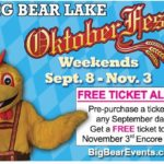 Big Bear: Oktoberfest Opening Weekend